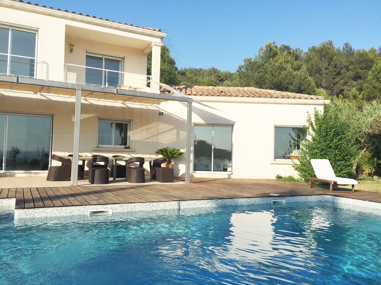 House in carqueiranne with sea view buy house with 4 for Piscine orsole