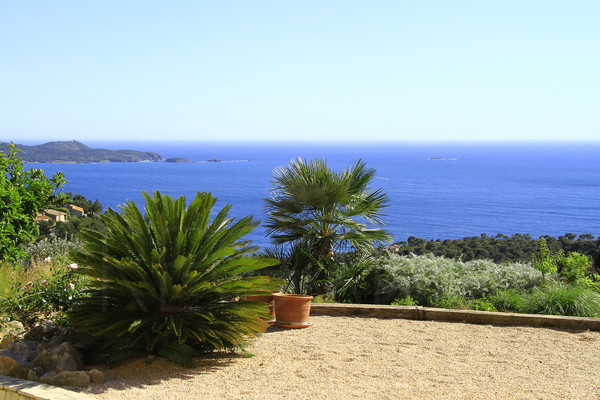 for sale, Carqueiranne/Hyères, panoramic seaview, swimming pool
