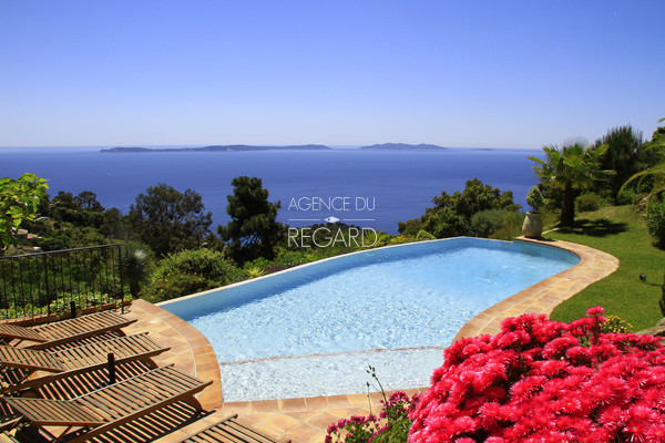 property in Rayol Canadel with panoramic sea view , house in Rayol , pool , 5 bedrooms , var ,