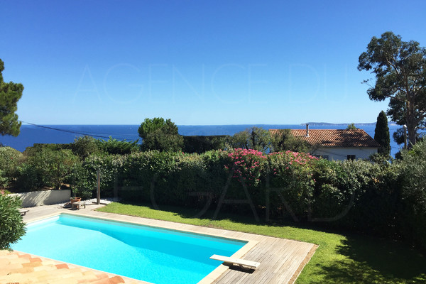 Rayol canadel / var / property poanoramic seaview